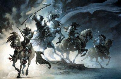 Le Couple a ses ennemis : les Cavaliers del'Apocalypse