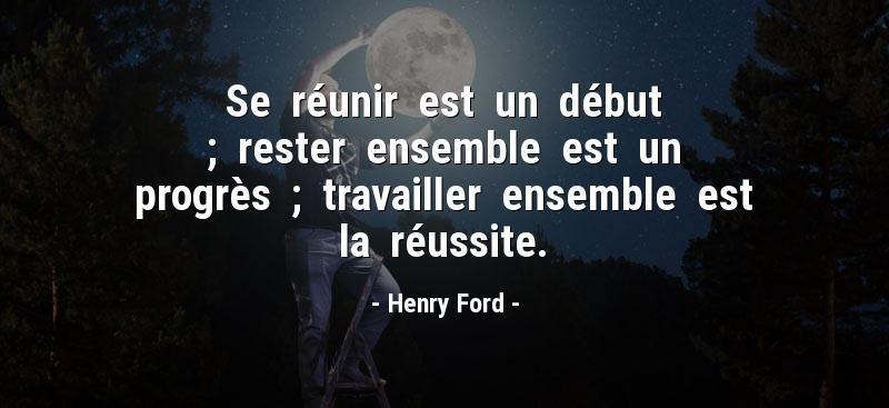 reunir-debut-rester-ensemble-progres-travailler-ensemble-reussite